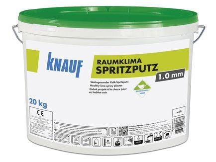 Raumklima Spritzputz