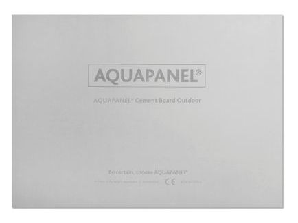 Aquapanel® Cement Board Outdoor 12,5 mm